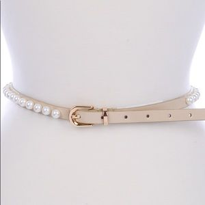 Accessories - Pink Pearl Belt NEW